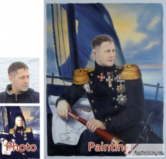 Custom oil portrait-General navigation