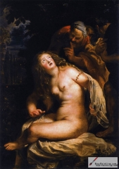 Susanna and the Elders, 1608