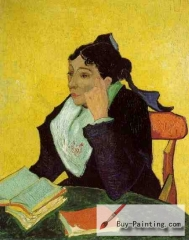 L'Arlésienne: Madame Ginoux with Books, November 1888. The Metropolitan Museum of Art, New York