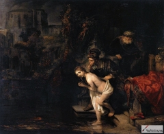 Susanna and the Elders, 1647