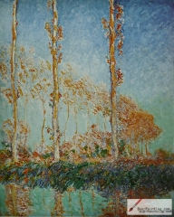Poplars (Autumn), 1891,