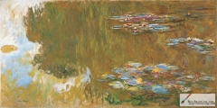 The Water Lily Pond, c. 1917–19,