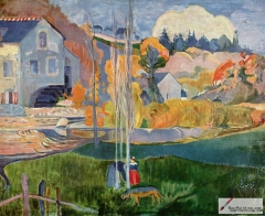Watermill in Pont-Aven (1894)
