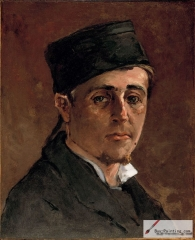 Self-portrait, 1875–1877,