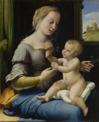 The Madonna of the Pinks, c. 1506–7