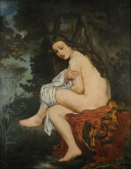 The surprised nymph, 1861