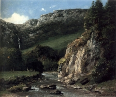Stream in the Jura Mountains (The Torrent), 1872–73