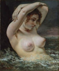 The Bather, 1868