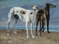 The Greyhounds of the Comte de Choiseul, 1866