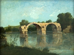 The Pont Ambroix Languedoc, 1857