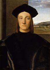 Guidobaldo da Montefeltro, Duke of Urbino from 1482-1508, c.1507