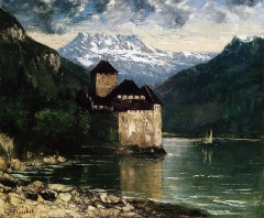 The Castle of Chillon, 1874