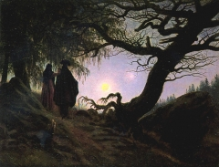 Man and Woman Contemplating the Moon (1830–35)