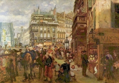 Weekday in Paris, 1869
