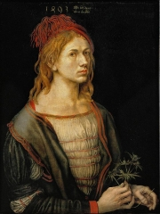 The earliest painted Self-Portrait (1493)