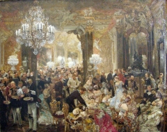 Supper at the Ball, 1878