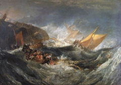 The Wreck of a Transport Ship (c. 1810)