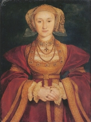Portrait of Anne of Cleves, c. 1539.