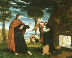 Noli me tangere, possibly 1524–26.