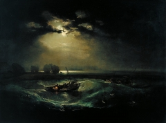 Fishermen at Sea exhibited in 1796