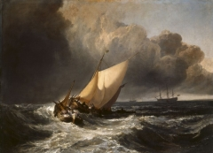 Dutch Boats in a Gale (1801)