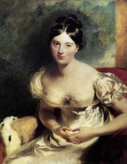 Portrait of Marguerite, Countess of Blessington, 1822