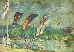 Regatta at Molesey, 1874