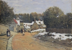 Early Snow at Louveciennes, c. 1871-1872