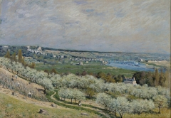 The Terrace at Saint-Germain, Spring, 1875