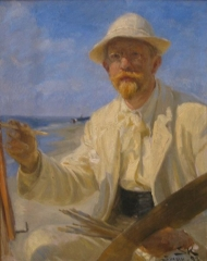 Self portrait, 1897