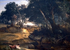 View of the Forest of Fontainebleau (1830)