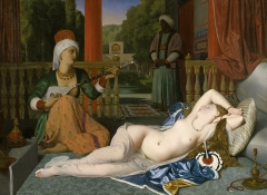 Odalisque with Slave, 1842