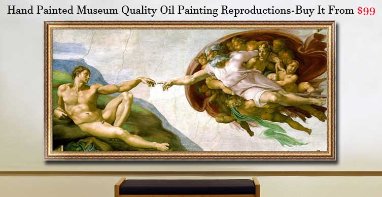Buy oil painting reproductions in museum quality,