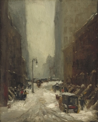 Snow in New York, 1902