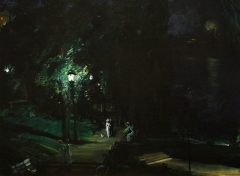 Summer Night, Riverside Drive (1909)