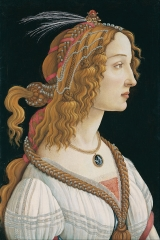 Portrait of a young woman, possibly Simonetta Vespucci, 1484