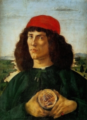 Portrait of a Man with a Medal of Cosimo the Elder, 1474