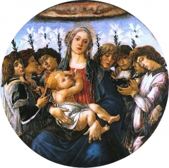 Madonna with Lillies and Eight Angels, c. 1478