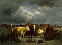 The Approach of a Storm (around 1872)
