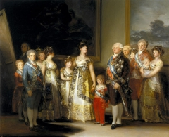 Charles IV of Spain and His Family, 1800