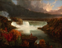 Distant View of Niagara Falls (1830)