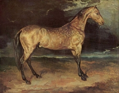 Horse in the Storm, 1820–1821