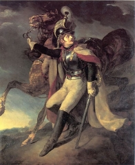 Wounded Cuirassier Leaving the Field of Battle, 1814