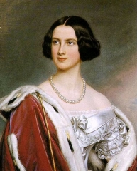 Stieler beautified his models, see Marie of Prussia Queen of Bavaria