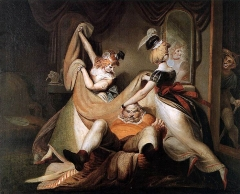 Falstaff in the laundry basket, 1792
