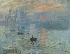 Impression, Sunrise,1872-Painter: Claude Monet