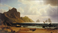 The Marina Piccola, Capri (1859)