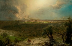 Jerusalem from the Mount of Olives, 1870