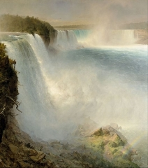 Niagara Falls, from the American Side, 1867