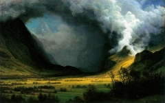 Storm in the Mountains, c. 1870